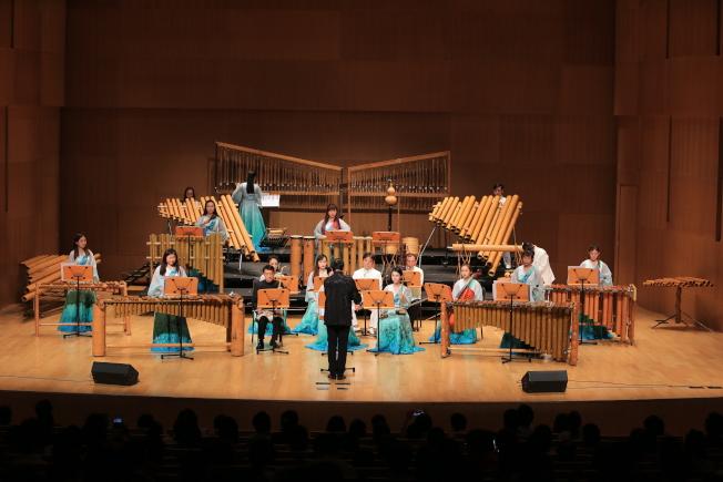 北京竹樂團的演出照。(竹樂團提供)