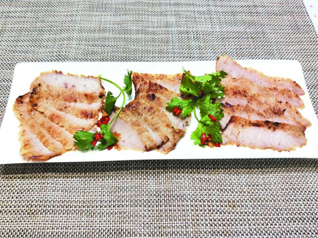 味噌松阪肉。