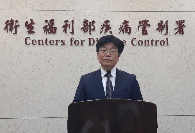 衛生福利部疾病管制署署長周志浩。(記者邱宜君/攝影)