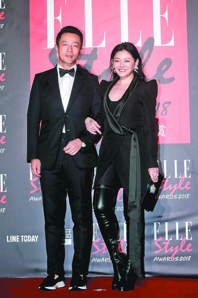 汪小菲(左)與大S結婚9年,稱自己算半個台灣人,14日傳出他不滿計程車司機罵他髒話,在路邊理論。(本報資料照片)