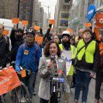 曼哈頓中城向北 籲建更多受保護單車道