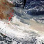 澳洲野火煙霧 NASA:將繞地球一圈