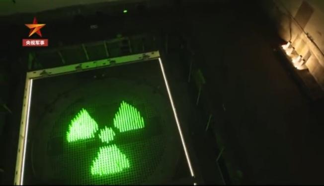 816地下核工程裡的反應爐大廳。(視頻截圖)