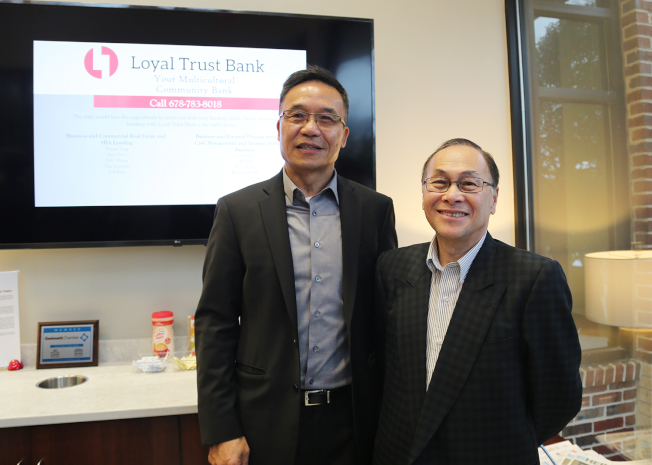 亞特蘭大中國商會會長倪健和亞洲投資者財團首席運營官余振鴻(Henry Yu)參與開幕典禮。