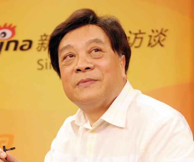 趙忠祥16日早上因病在北京去世,享壽78歲。(新華社資料照片)