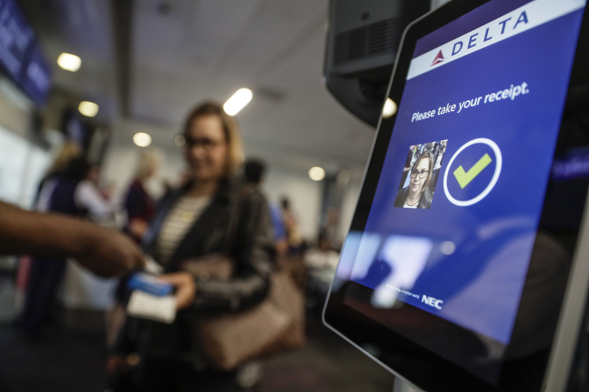 費城機場將試行人臉辨識通關。(美聯社)