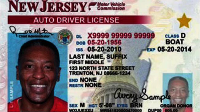 圖為加強防偽的新州真實身分證駕照。(州府提供)