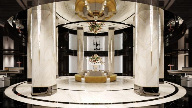 華爾道夫酒店改建工程接近尾聲。(大家保險集團提供)