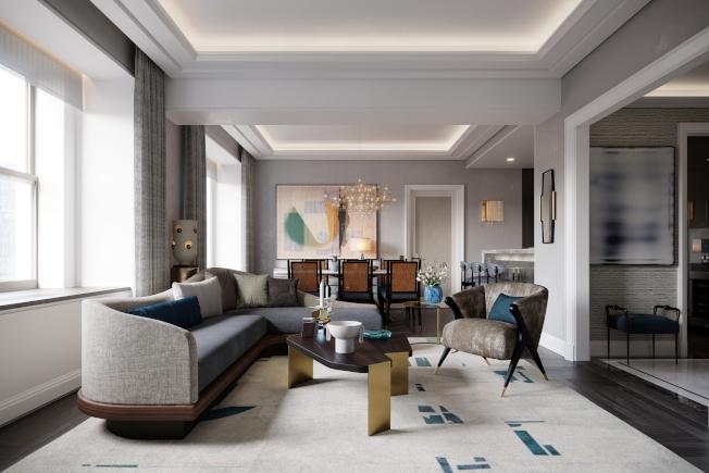 華爾道夫公寓以超豪華為市場定位。(大家保險集團提供)