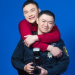 警消同婚甭低調 他們歡喜成家 同事都祝福