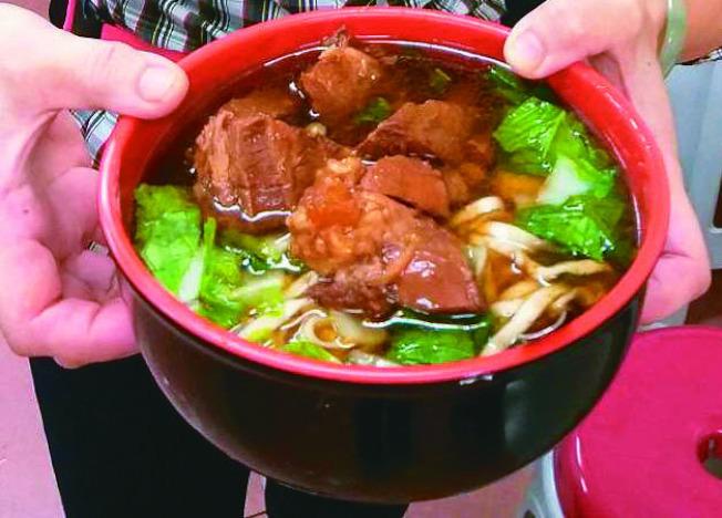 牛肉麵。(本報資料照片)