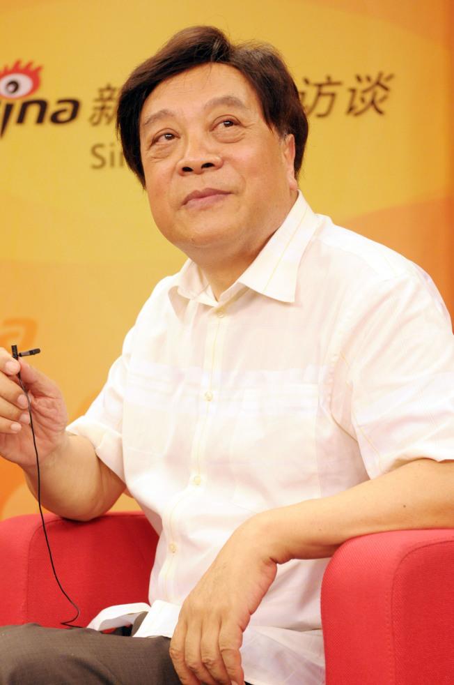 趙忠祥16日因病在北京去世,享壽78歲。(新華社資料照片)