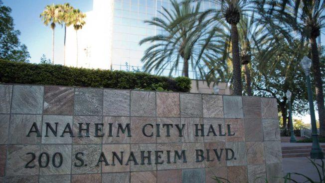 安那罕市政府。(資料照片)