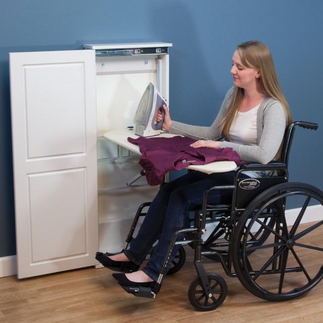 家中廚房檯面、櫥櫃等或都需要降低高度。(取自Home Depot網站)