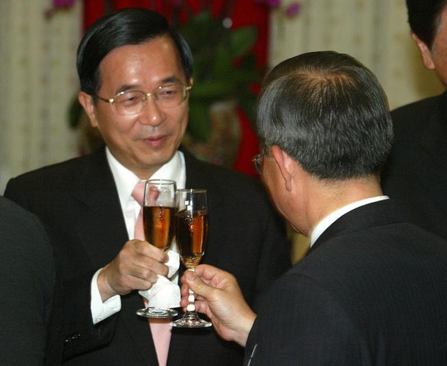 陳水扁總統。(本報資料照片)