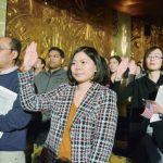 屋崙公民入籍式 中國移民最多