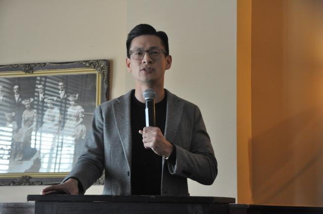 羅達倫15日正式宣布支持楊安澤參選總統,同時也加入楊安澤全國競選團隊。(圖:本報檔案照片)