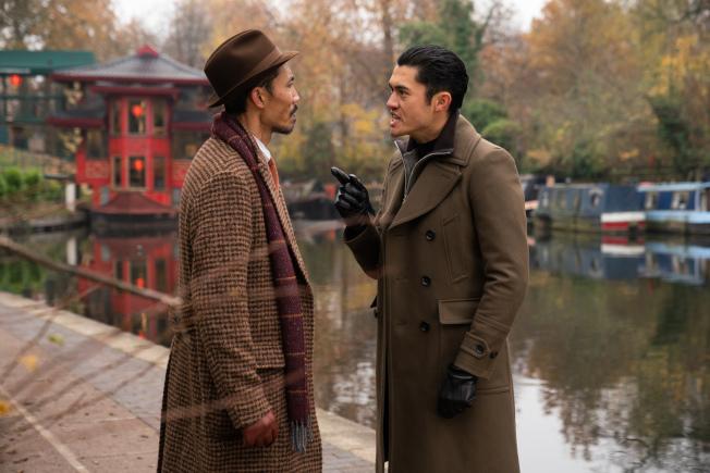 「紳士追殺令 」中涉及倫敦的華人黑幫,亨利高汀出演凶狠的幫派頭目之一。(STX圖片)
