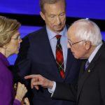 CNN:華倫與桑德斯辯論會後 互嗆彼此是騙子