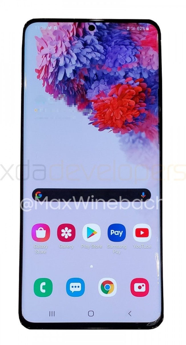 三星預計將推出三款Galaxy S20系列旗艦手機。圖/擷自XDA Developers論壇網站