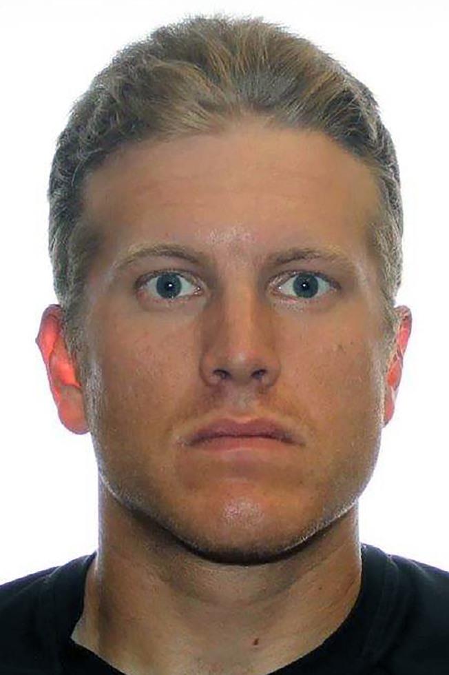 被捕的27歲男子馬修斯。(美聯社)