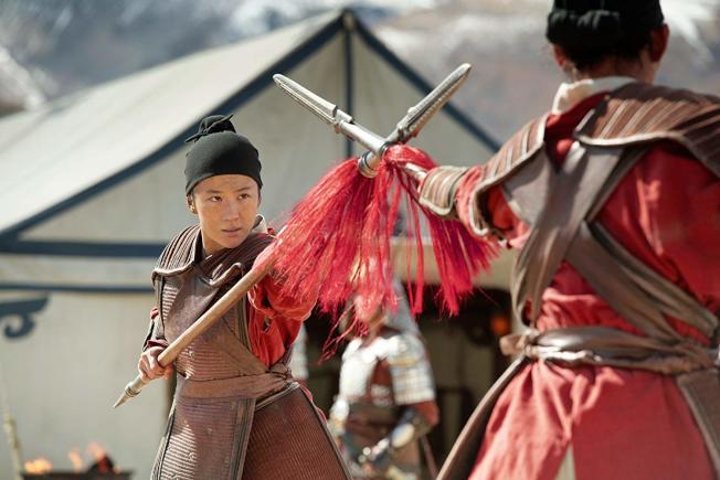 「花木蘭」真人版是今年春天歐美觀眾最期待的電影之一。圖/摘自imdb