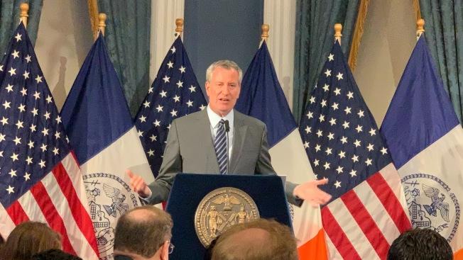 白思豪指出,2021財年紐約市將面臨更大財政困難是:州政府撥款可能減少,料對健保造成影響,同時還要支持大都會運輸署(MTA)的地鐵修繕支出。(記者和釗宇/紐約報導)