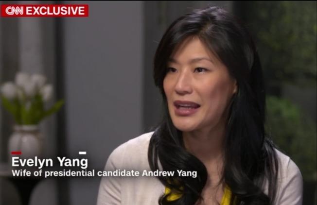 楊安澤的妻子接受CNN獨家專訪時,揭露她曾遭婦科醫師強暴。(截自CNN影片)