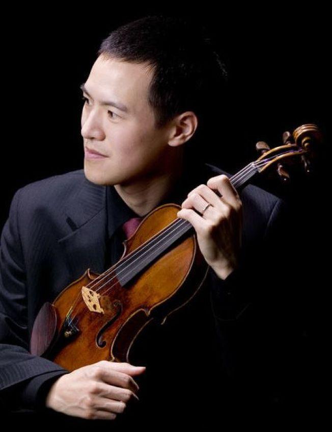 小提琴家林以信。(臉書官網)