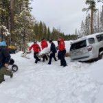 白雪覆車失蹤一周 68歲失智婦奇蹟生還