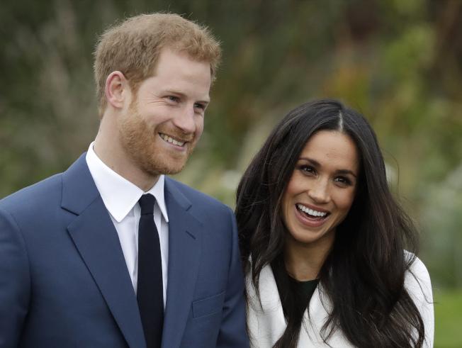哈利王子的妻子梅根想落腳加拿大,但加拿大傳媒卻不歡迎。(美聯社)