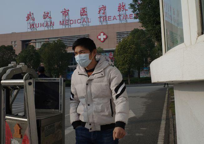 從武漢爆發的2019新型冠狀病毒引發防疫恐慌。(Getty Images)