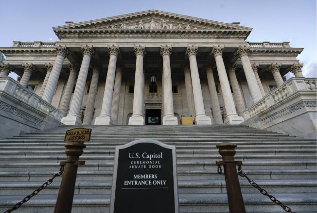 川普彈劾案將在國會參院進行審理。(美聯社)