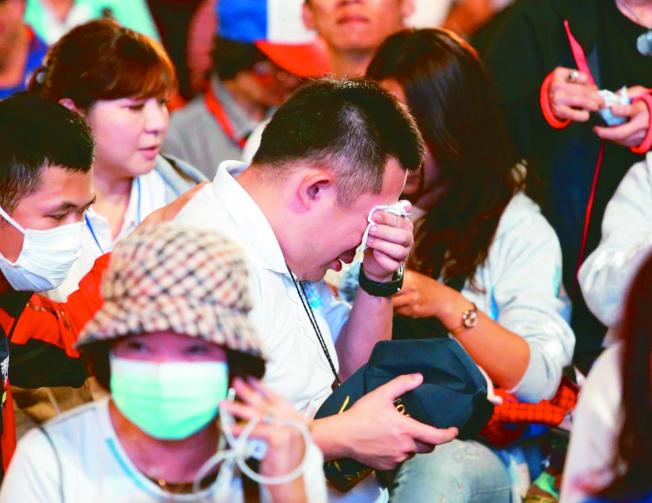 台灣大選後,落敗陣營的選民恐陷入選後憂鬱。(本報資料照片)