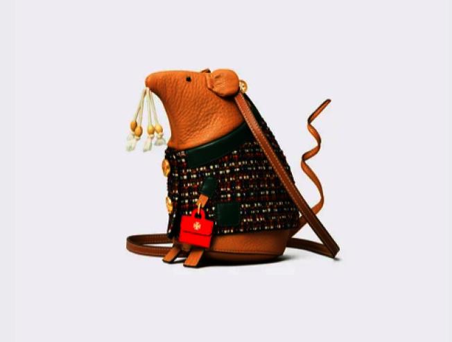 托里·伯奇推出鼠年背包。(取自官網)