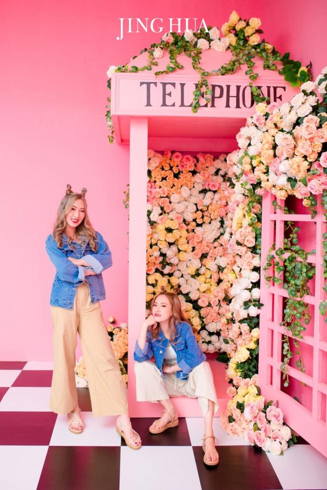 京華婚紗提供各種風格的室內及室外布景讓消費者選擇。(圖:京華婚紗提供)