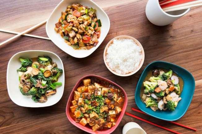 34--新中餐館「馬馬虎虎」的精緻菜式。(取自推特)