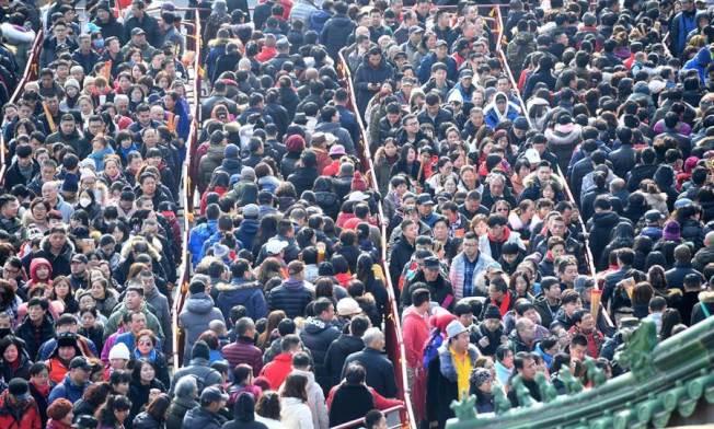 中國人口突破14億。(新華社)