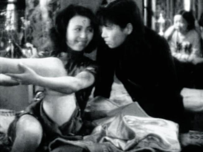 中國第一部體育電影《體育皇后》劇照。(取材自中新周刊)
