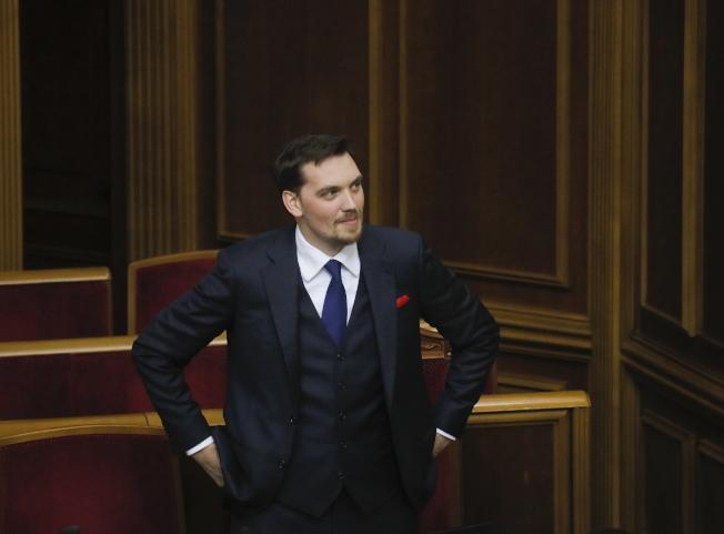 烏克蘭總理岡查魯克早前批評總統不懂經濟的發言被錄音外流,他17日宣布請辭。(歐新社)