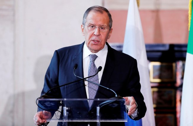 俄羅斯外交部長拉夫羅夫。 (路透社)