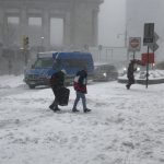 紐約周末遇低溫和降雪 州長籲民眾避免外出
