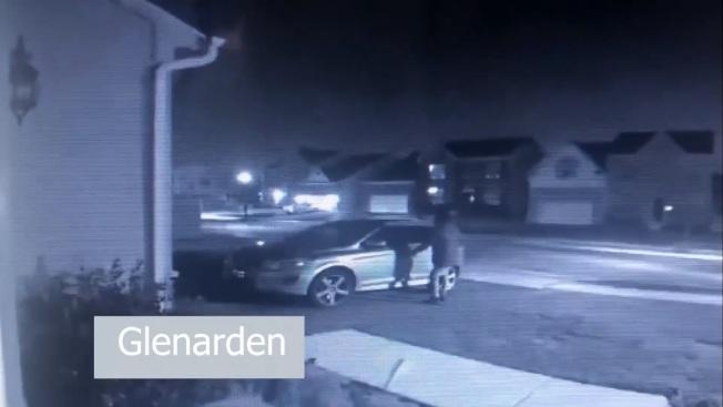 馬州鮑伊市近日發生多起車輛竊案。(鮑伊市警提供)
