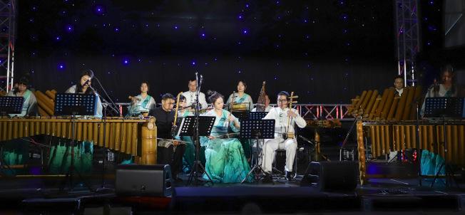 「Hello Panda Festival」17日邀請北京竹樂團帶來多首特色中華民族音樂表演。(主辦方提供)
