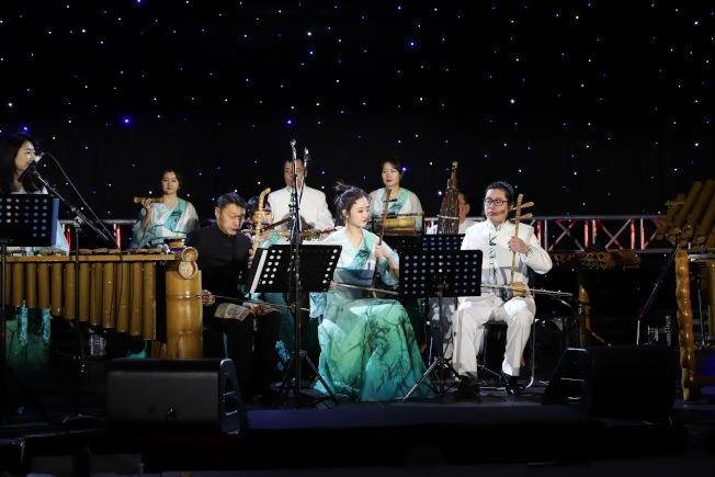 「Hello Panda Festival」17日邀請北京竹樂團帶來多首特色中華民族音樂表演。(主辦方提供)(主辦方提供)