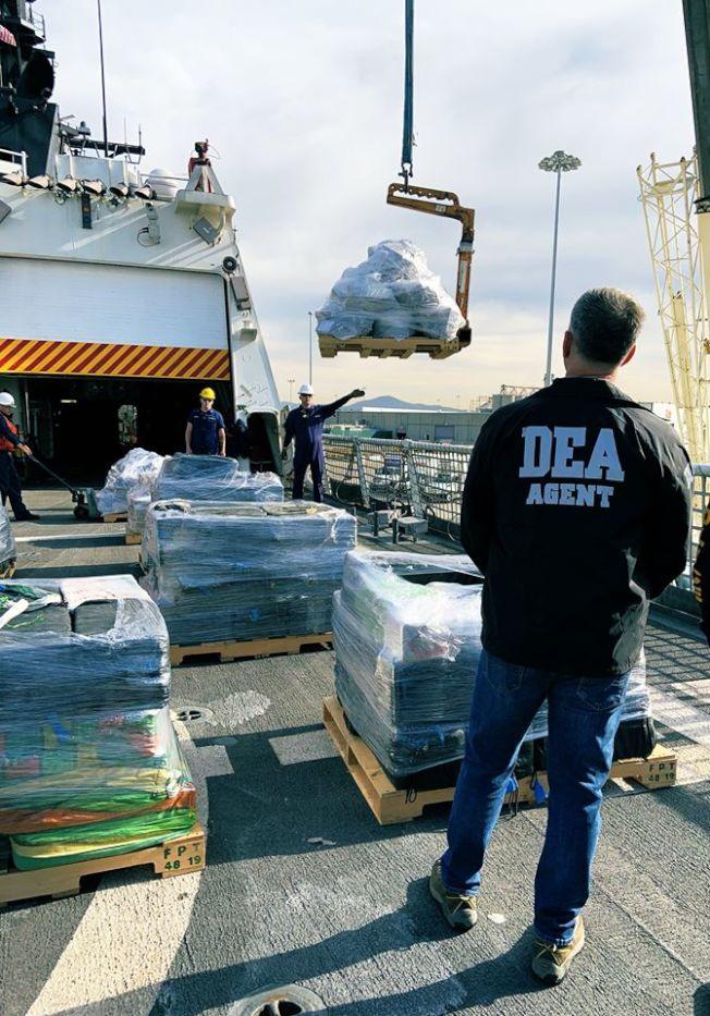 聯邦緝毒署專門打擊毒品犯罪。(DEA臉書截圖)