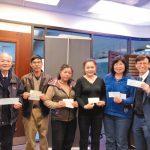 逾120華人募6650元 捐曾爍博士獎學金