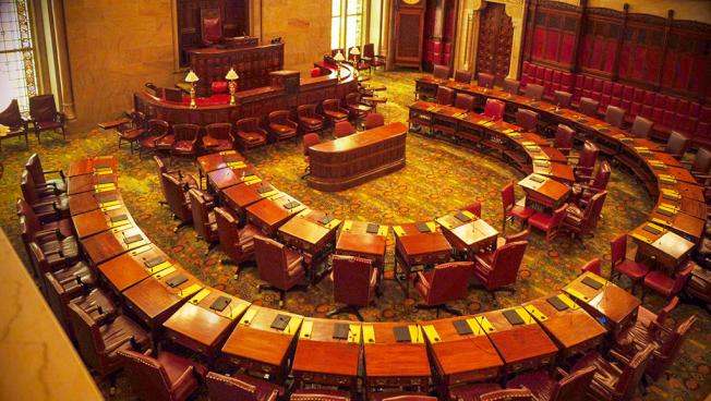 氣派非凡的參議會議事大廳。