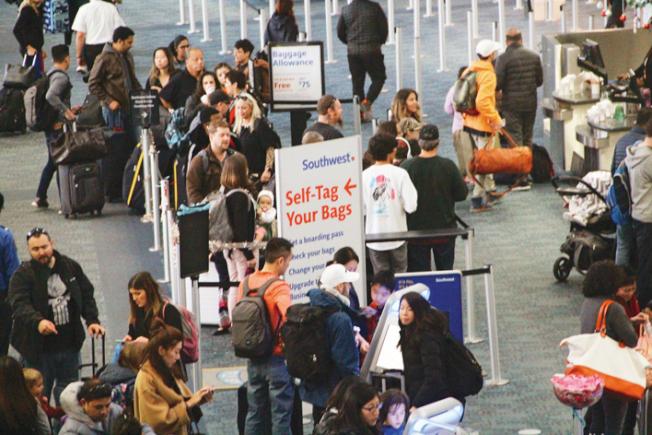 為預防武漢肺炎疫情傳播,舊金山國際機場將對武漢來客或經轉武漢的旅客,進行隔離檢查。(本報檔案照片)