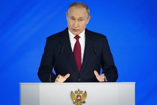俄國總統普亭。(美聯社)